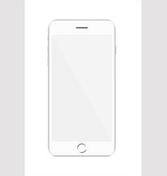 new version white modern vector image