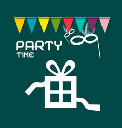 Party card design vector