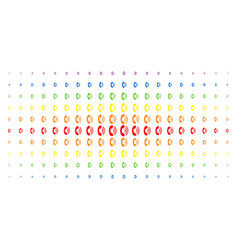 Phone ring spectrum halftone matrix vector