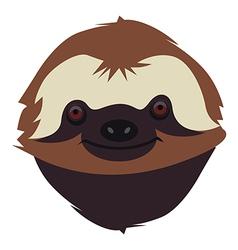 Sloth muzzle vector