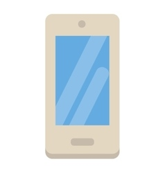 Smartphone flat designs cartoon telephone vector image