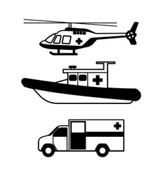 vehicle accident vector image