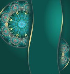 dark green99 vector image vector image