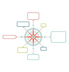 diagram planing vector image