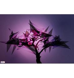 Shard tree vector image