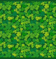 st patricks day seamless background vector image