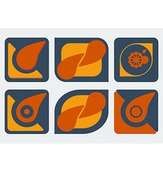 Logo design templates vector image