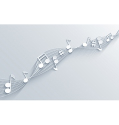 music background Eps10 vector image