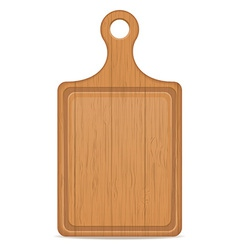 cutting board 04 vector image vector image