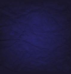 blue cardboard wrinkles texture vector image