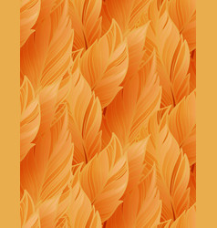 bright leaves seamless pattern vector image