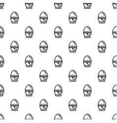 Egg timer pattern seamless vector