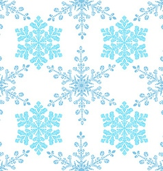 Festive seamless pattern with blue colored vector image