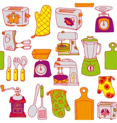 Food vintage wallpaper vector