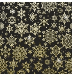 Gold glitter particles background EPS 10 vector image