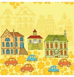 neighbourhood pattern vector image