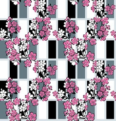 japanese modern pattern vector image vector image