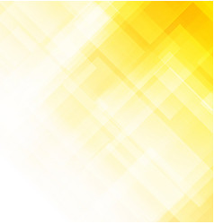 abstract yellow background with square shapes vector image