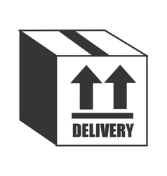 Delivery and logistics graphic design vector image