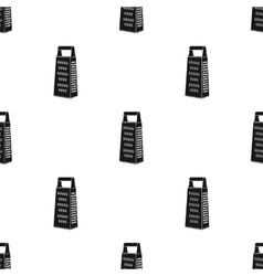Grater icon in black style isolated on white vector image