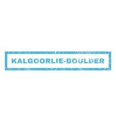 Kalgoorlie-Boulder Rubber Stamp vector