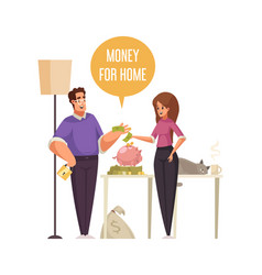 Money for home vector