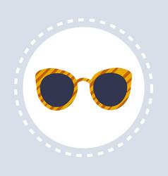 women stylish sunglasses shopping icon fashion vector image