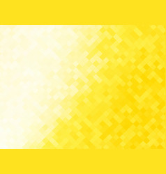 Abstract yellow tiled background vector