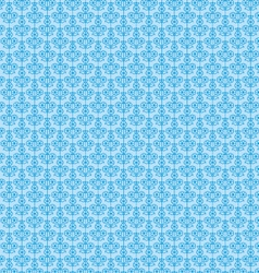 Blue seamless paisley vector
