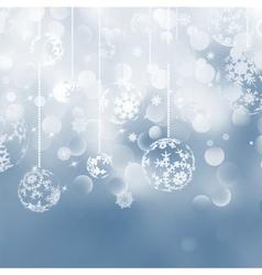 Christmas bokeh background vector