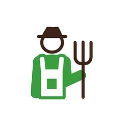 Farmers icon Garden vector