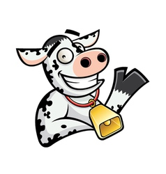 Funny Cow vector image