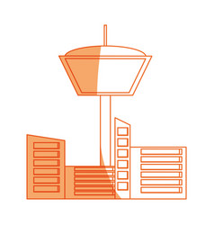 Isolated control tower vector