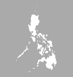 Map of the Philippines vector