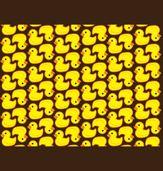 Pattern duck vector