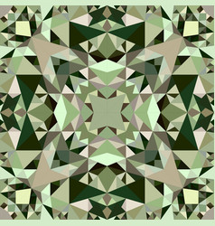 Triangle repeating kaleidoscope pattern vector