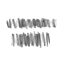hand drawn scribble chalk marks textures vector image vector image