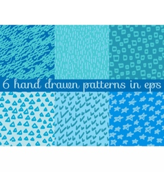 seamless wallpaper pattern background vector image vector image
