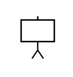 canvas icon vector image