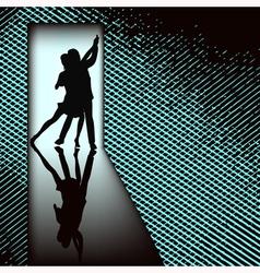 Doorway Tango vector image vector image