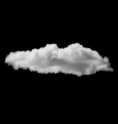 Cumulus realistic cloud vector