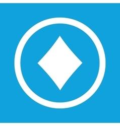 Diamonds sign icon vector