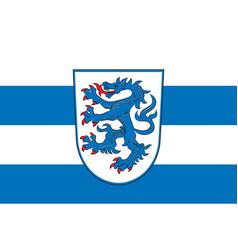 Flag of ingolstadt in upper bavaria in bavaria vector