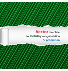 holiday design vector image