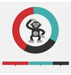 Intellect infographics vector