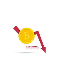 loss of points currency vector image
