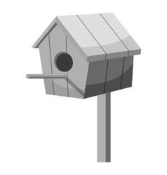 Nesting box icon gray monochrome style vector image