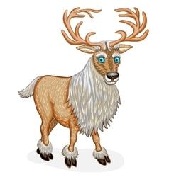 Standing Reindeer animal cartoon character vector image