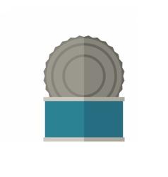 Tincan Icon vector image