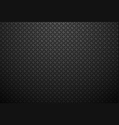 Abstract black metal background vector